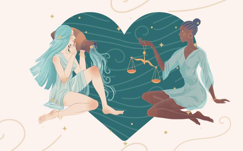 Aquarius and Libra Match