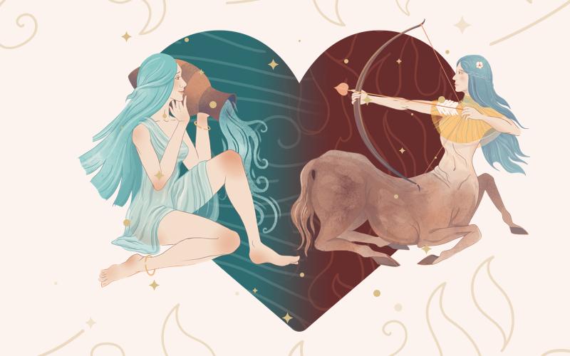 Aquarius and Sagittarius Match