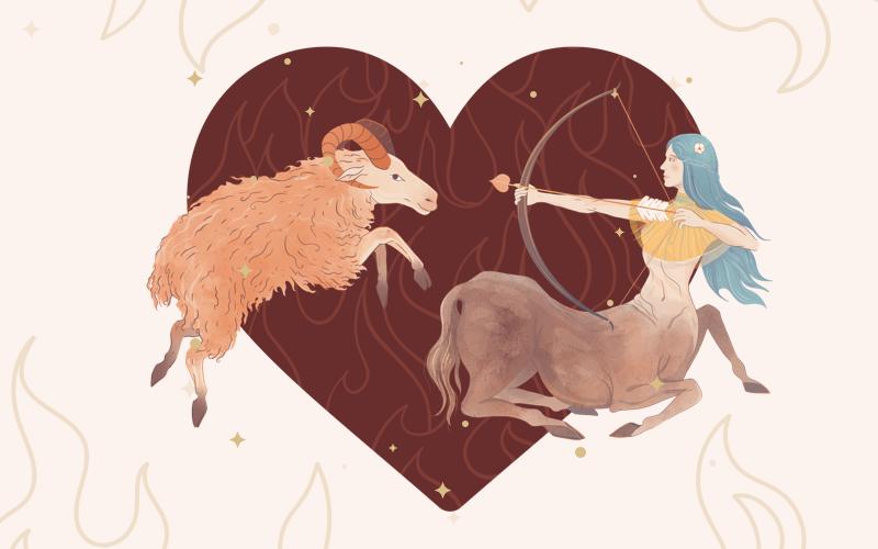 Aries & Sagittarius