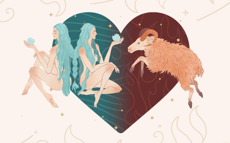 Gemini and Aries Match