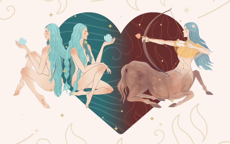 Gemini and Sagittarius Match