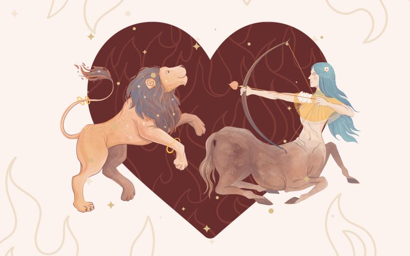 Leo and Sagittarius Match
