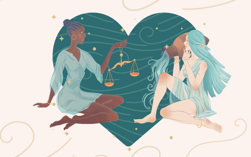 Libra and Aquarius Match