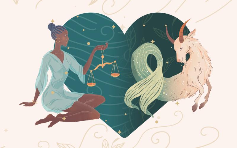 Libra and Capricorn Match