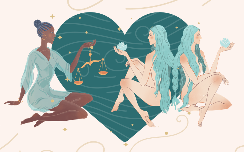 Libra and Gemini Match