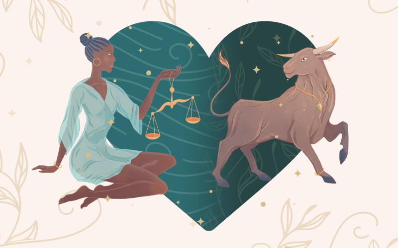 Libra and Taurus Match