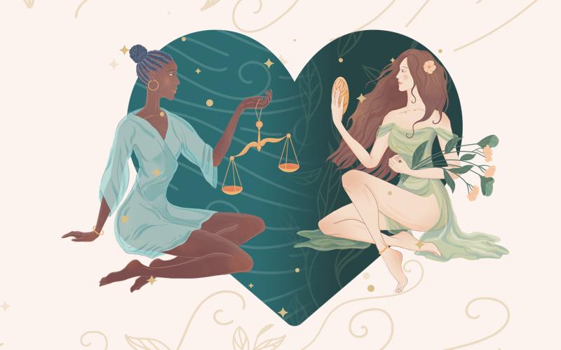Libra and Virgo Match