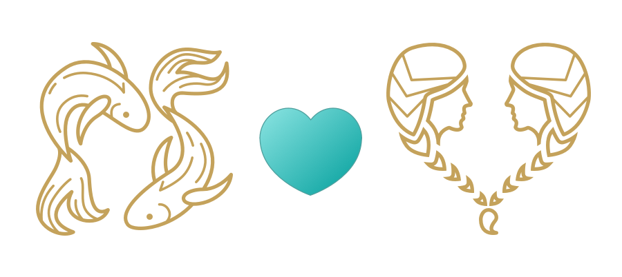 Pisces & Gemini Compatibility