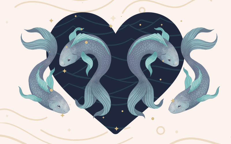 Pisces and Pisces Match
