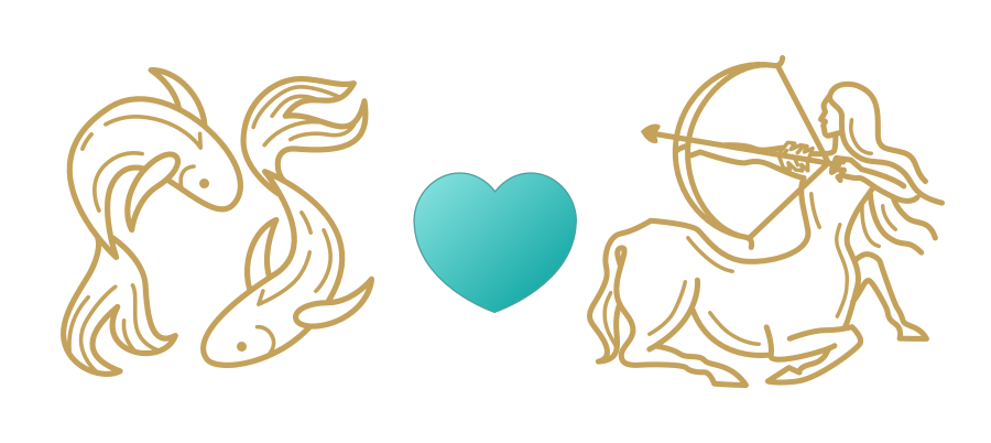 Pisces & Sagittarius Compatibility