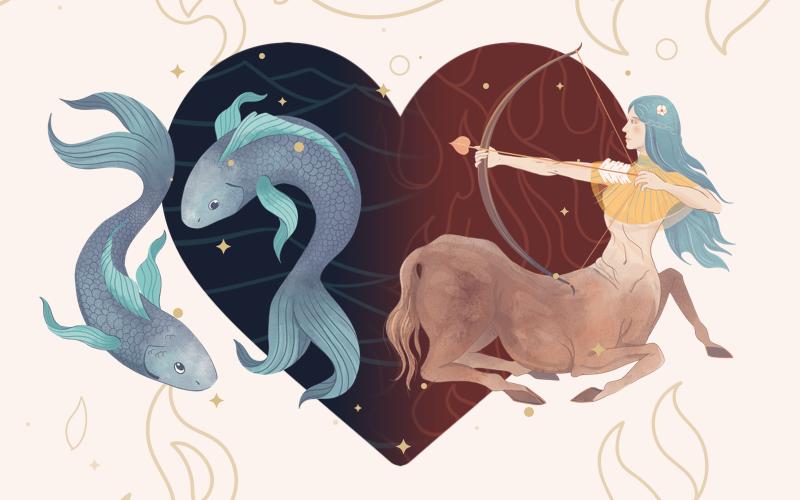 Pisces and Sagittarius Match