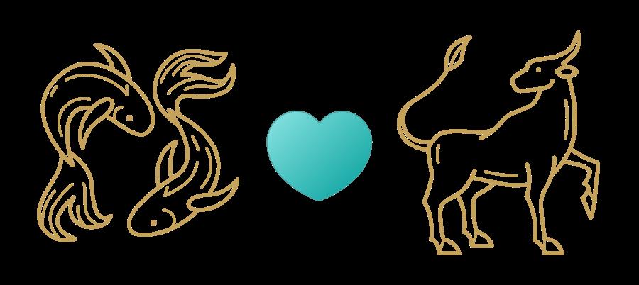 Pisces & Taurus Compatibility