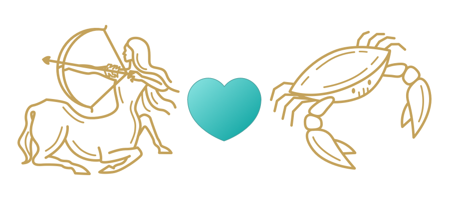 Sagittarius & Cancer Compatibility