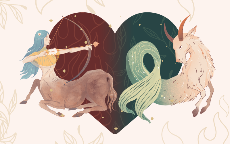 Sagittarius and Capricorn Match