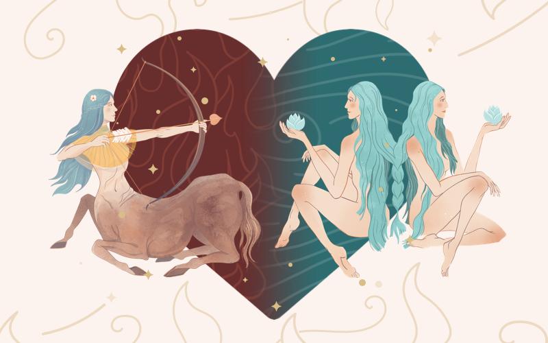 Sagittarius and Gemini Match