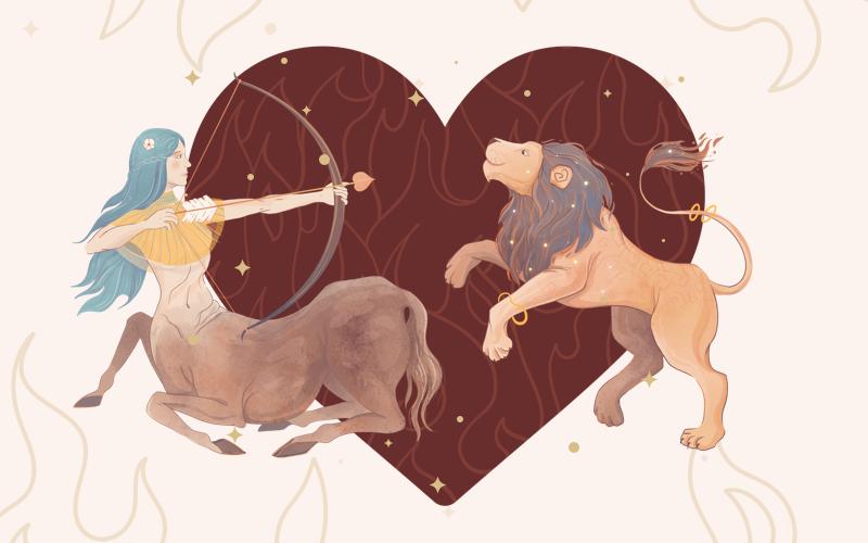 Sagittarius and Leo Match