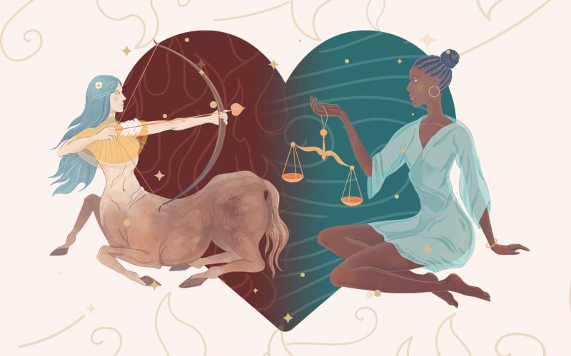 Sagittarius and Libra Match