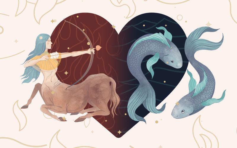 Sagittarius and Pisces Match