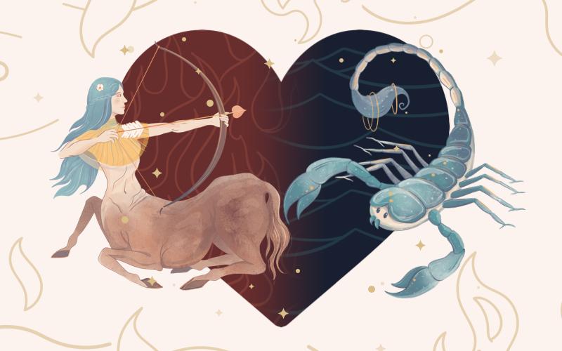 Sagittarius and Scorpio Match