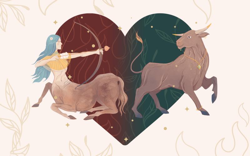 Sagittarius and Taurus Match
