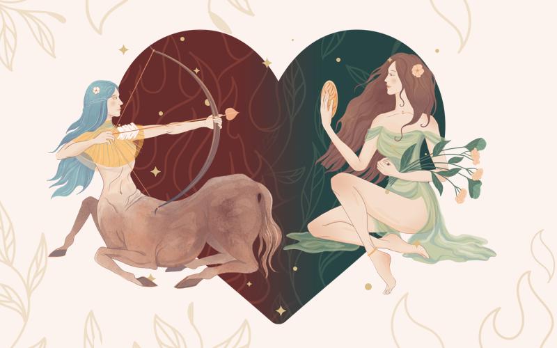 Sagittarius and Virgo Match