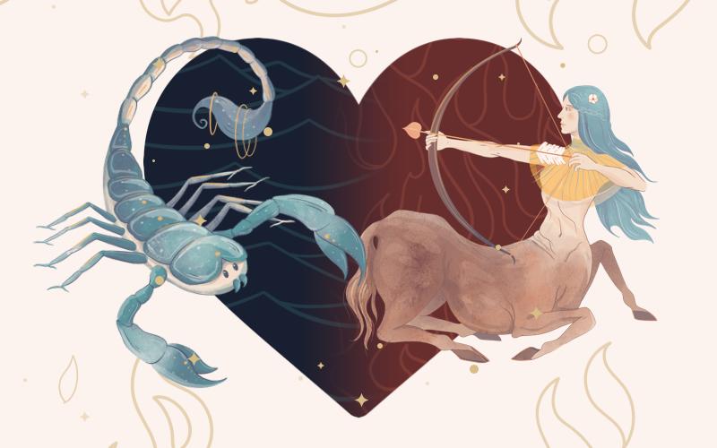 Scorpio and Sagittarius Match