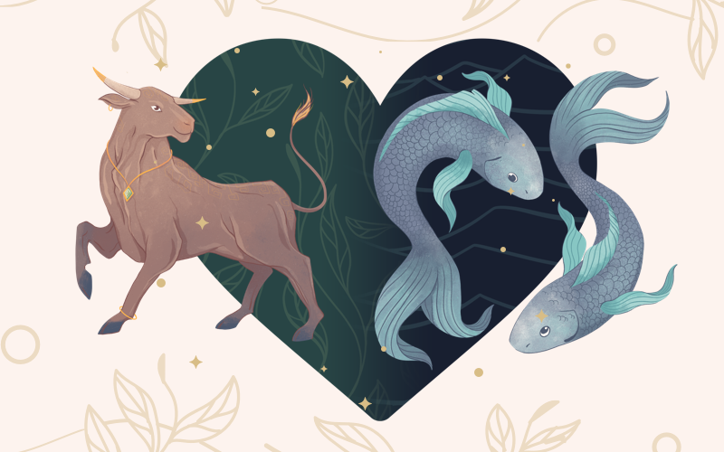 Taurus and Pisces Match