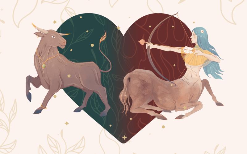 Taurus and Sagittarius Match